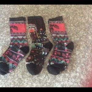 Smartwool Women's Totem Valley Print Crew Socks M